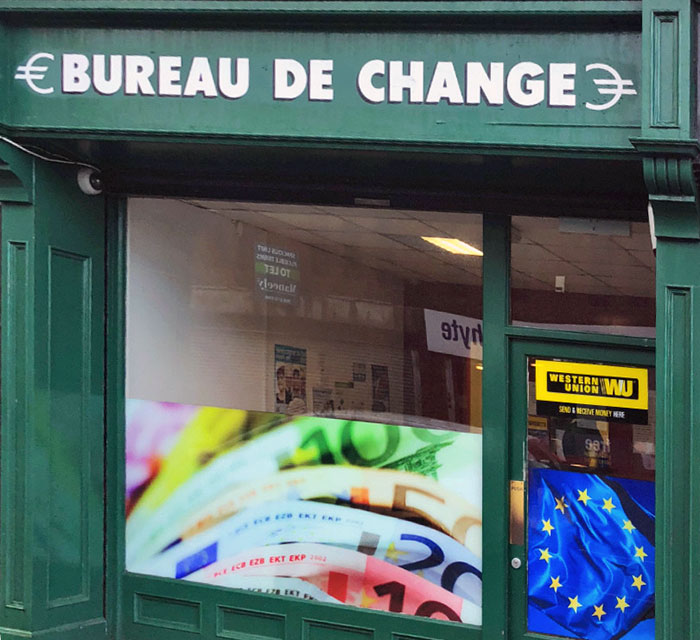 Bureau de Change Dungannon Aughnacloy Keady
